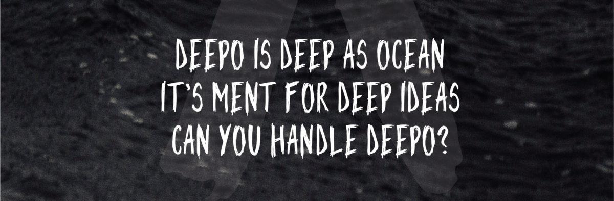 Deepo Free Font