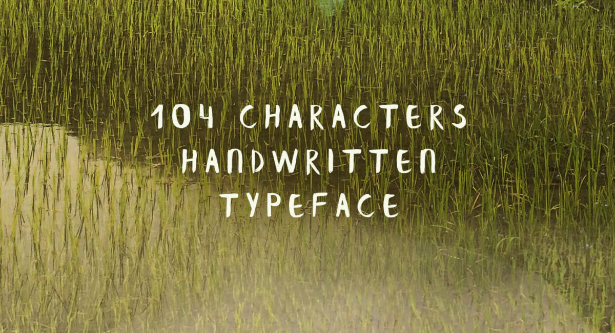Banaue Handwritten free font