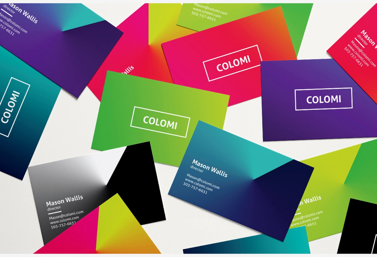 Colomi Business Card Template