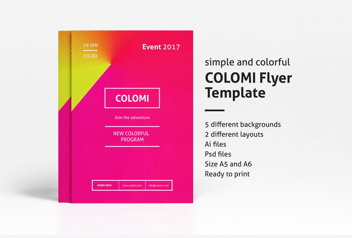Colomi Flyer Template