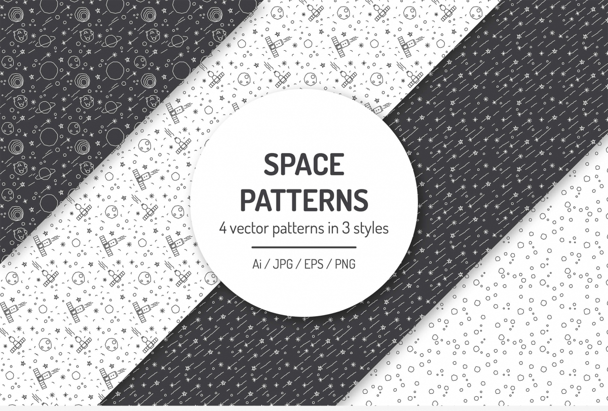 Seamless Space Patterns