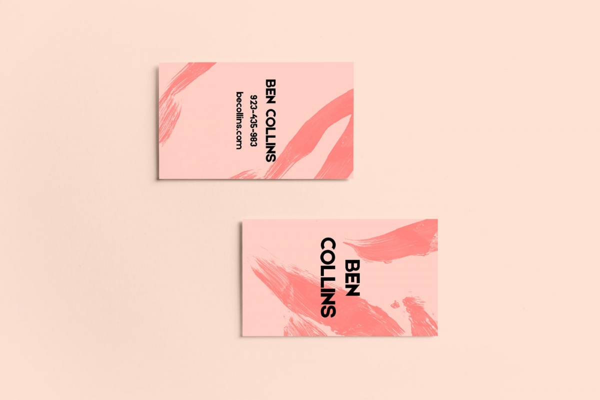 Collins Business Card Template