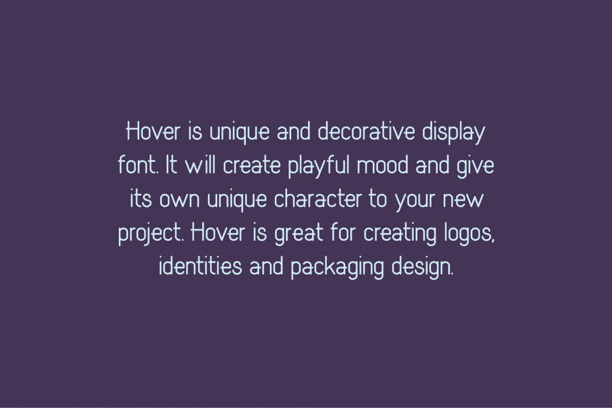 Hover Classic Extended Font