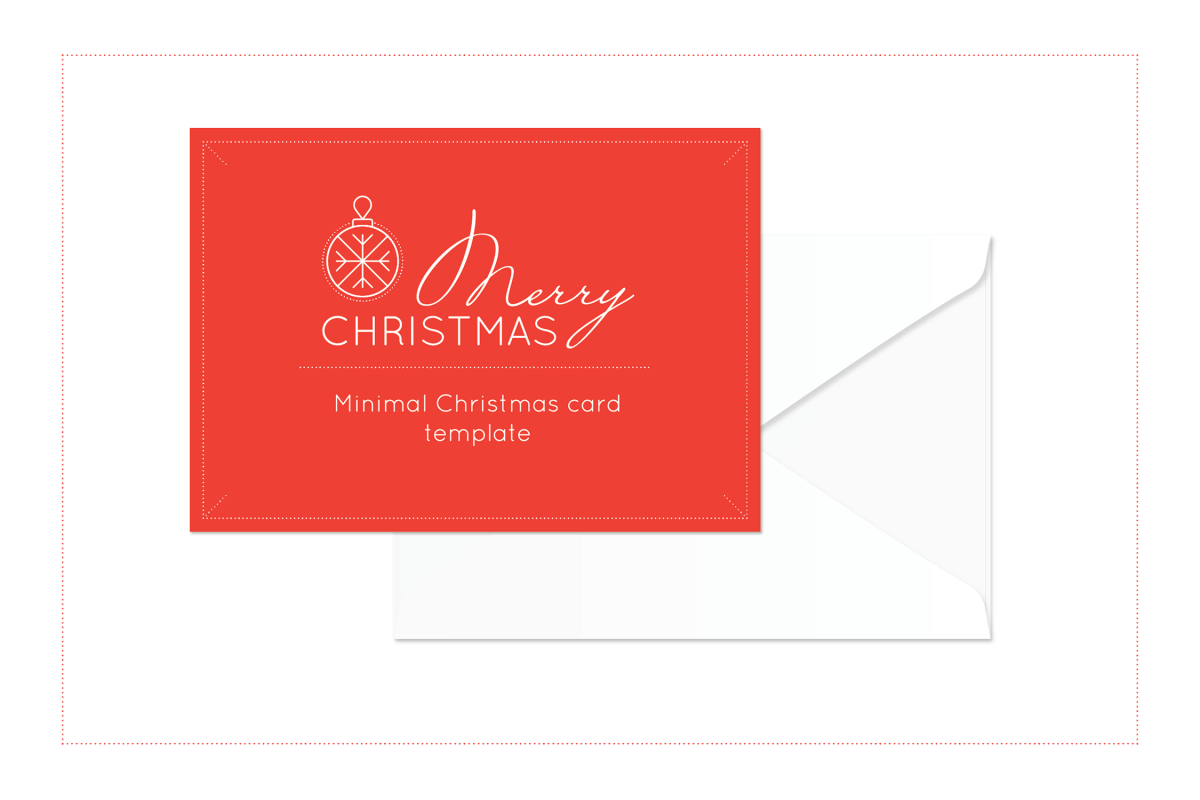 Merry Minimal Christmas Set