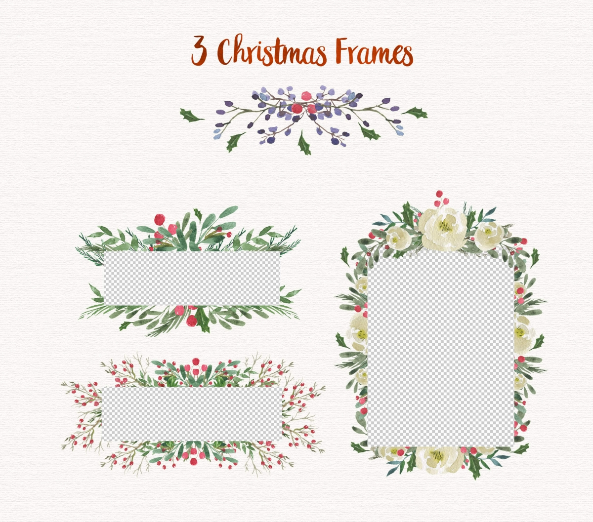 Christmas Watercolor Designs