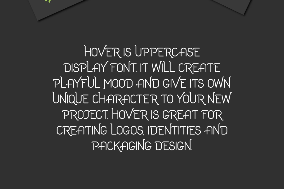 Hover Free Font