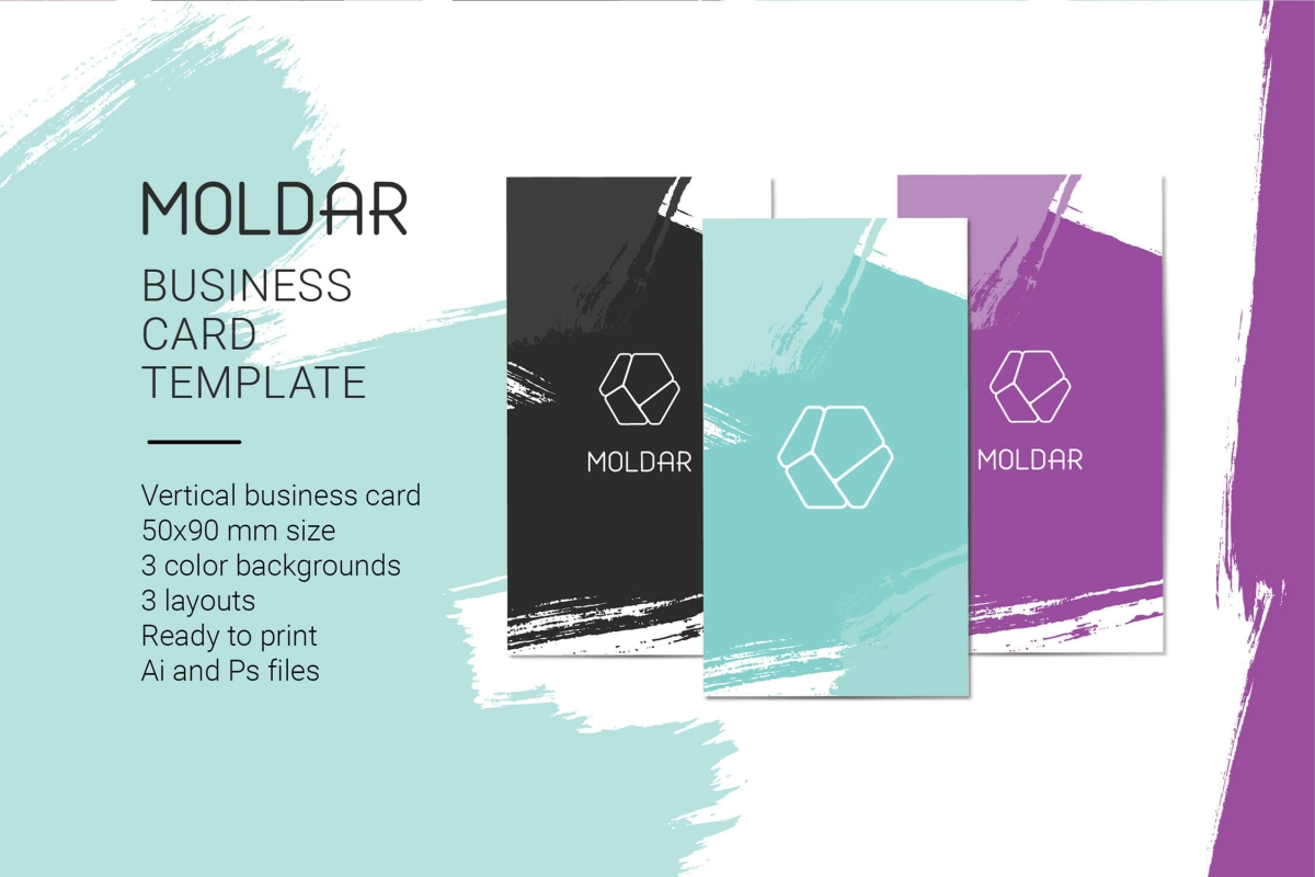 Moldar Business Card Template