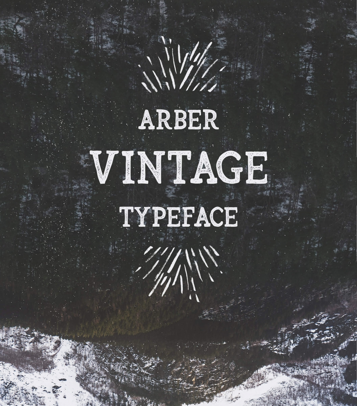 Arber - Best Vintage hipster font typeface
