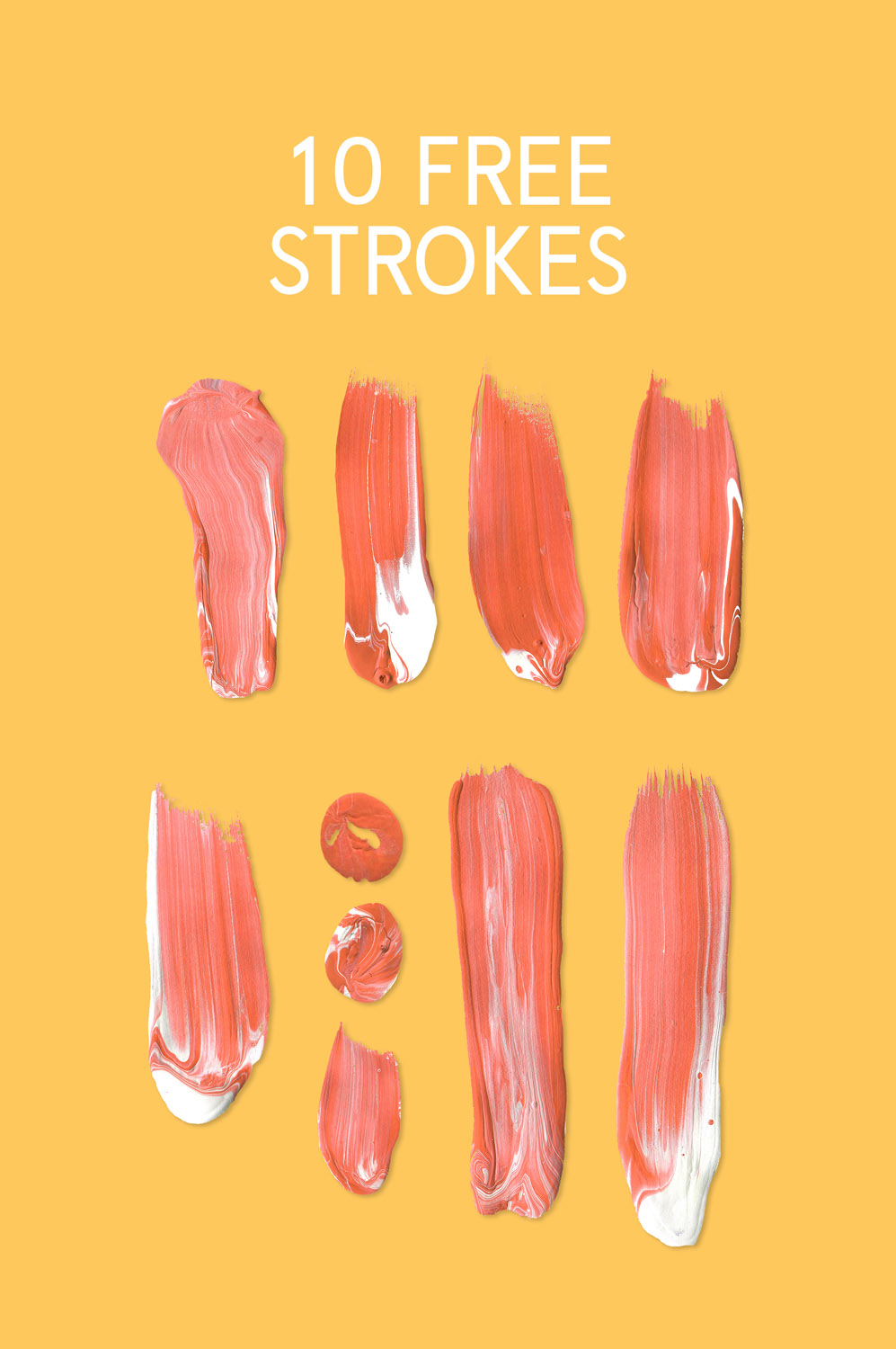 10 Free Art Paint Brush Strokes