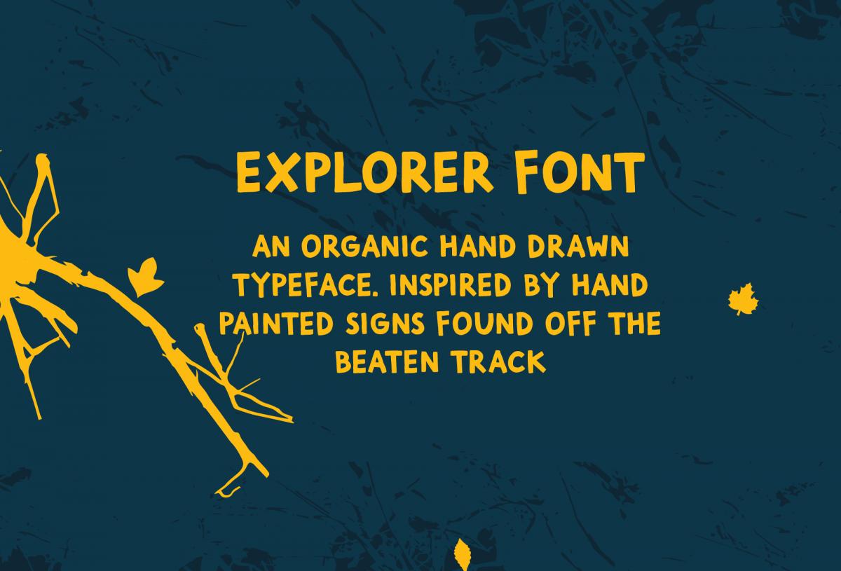Explorer Free Script Font