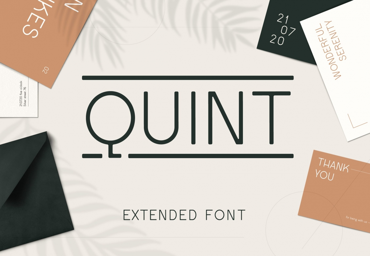 Quint Extended Font