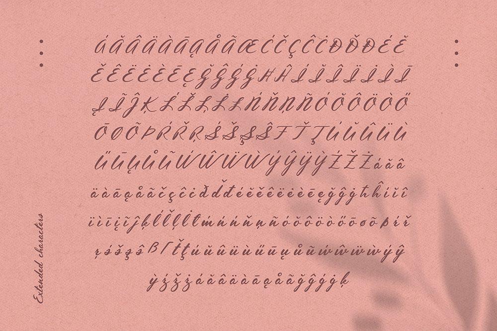Inola Hand Lettered Font